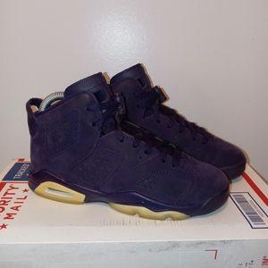 Jordan 6 'Purple Dynasty' (GS)